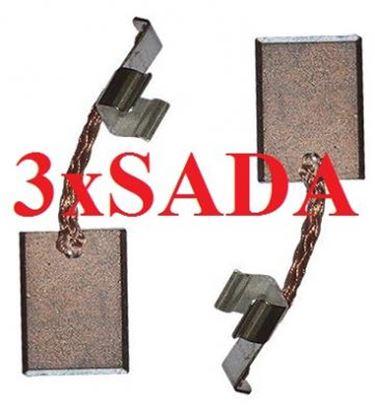 Image de Makita uhlíky CB440 CB 436 CB 440 3x10mm nahradí 194427-5 3x