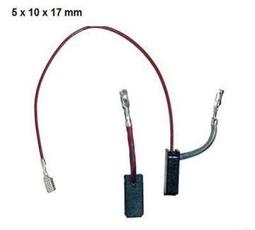 Obrázek uhlíky Bosch GBR 14 C GWS 14-125 C 14-125 CE sada uhlíků GWS 14-150c GWS 14-150 C nahradí originál GBR 14 C GWS 14-125 C GWS 14-125 CE GWS 14-150 C