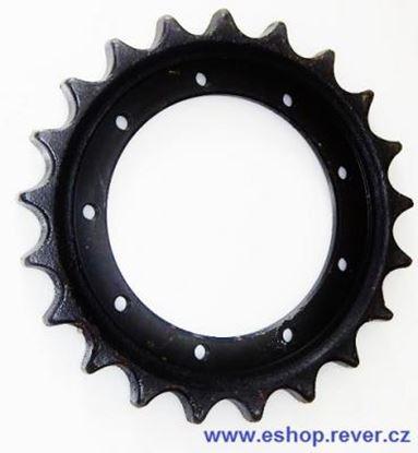 Obrázek ozubené kolo pro typ Komatsu PC14R-2 hnací kolo
