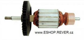 Obrázek rotor ventilator pila Black Decker GK310 nahradí originál kotva 368817-01 mazivo GRATIS - armature anker armadura armatura Reparatursatz Wartungssatz service repair kit