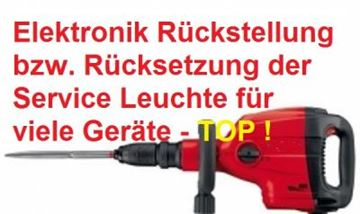 Obrázek Rückstellung HILTI Elektronik Reparatur RESET TE 16 30 40 50 500 56 76 60 70 80 905 1000 1500  - GRATIS Anschlusskabel und Ölnachfüllung