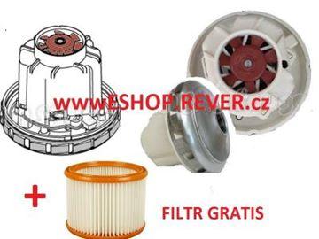 Obrázek Sací motor turbína Nilfisk Attix 961-01 965-21 SD XC 963-21 ED