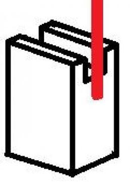 Obrázek uhlíky 4x5x10 akumulátorové nářadí 12V 24V 14V 28V 18V 36V VER1 bruska utahovák šroubovák
