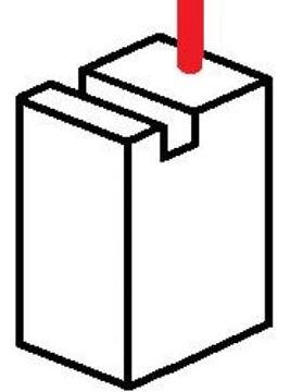Obrázek uhlíky 4x6x11mm akumulátorové nářadí 12V 24V 14V 28V 18V 36V aku bruska utahovák šroubovák