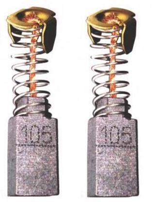 Obrázek uhlíky 6x10 x 15,5mm do Makita HR 1800 2010 2510 HK nahradí CB 105 CB105 181038-5 REM024