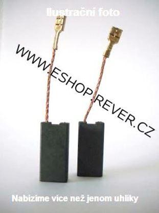 Obrázek Uhlíky Bosch GWS7 GWS8 GWS9 GWS11 GWS14 GWS15 PWS9 PWS10