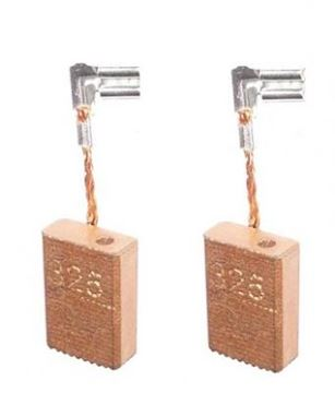 Bild von uhlíky do Makita 5x11 x 16mm nahradí CB 318 325 CB318 191978-9 194074-2 REM016CU copper ca