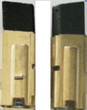 Immagine di uhlíky do Metabo SBE 1000 / 2 S R a L SBE1000 2SRL SBE10002SRL příklepová vrtačka AKCE kohlebürsten carbon brushes balais de charbon escobillas de carbón угольные щетки szénkefék