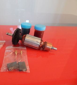 Imagen de armature rotor Bosch GBH4DSC GBH4DFE PBH300E GBH4 BBH4-30CCE BBH 4 BBH4-30CCE BHE4-30CE 335 342 BMH30-E DD542 BBH4-30CCE BHE4-30CE replace origin / maintenance repair service kit high quality / carbon brushes and grease FREE