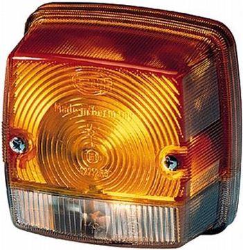 Image de světlo s blinkrem pro Ahlmann nakladač AS 50 AS50 motor F3L1011 Deutz F3L 1011