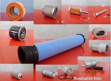 Obrázek palivový filtr do Mecalac 8 CX /1 motor Isuzu filter filtre