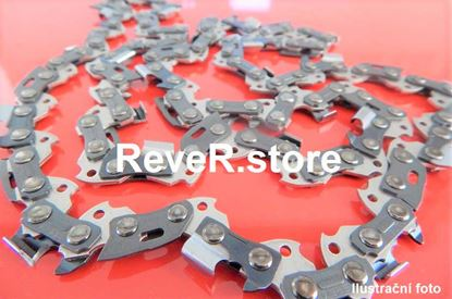 Image de 40cm ReveR tvrzená ocel řetěz HM tvrdokov 3/8 60TG 1,6mm pro Stihl MS341 MS361