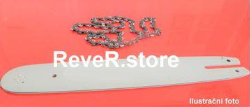 Obrázek ReveR Carving 45cm sada vodící lišta s 1 řetěz 1/4 86TG 1,3mm pro Stihl E14 MSE140 MSE 140