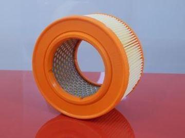 Obrázek vzduchový filtr kulatý pro Bomag BT 65/4 BT65/4 od serie 1222320 od RV 2006 motor Honda GX100 GX 100 železná vložka 10945 kvalita z SRN