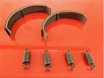 Obrázek spojka obložení 2ks + 4ks pružiny pro Bomag vibracni pech BT58 BT 58 spojkové destičky v sade OEM kvalita suP