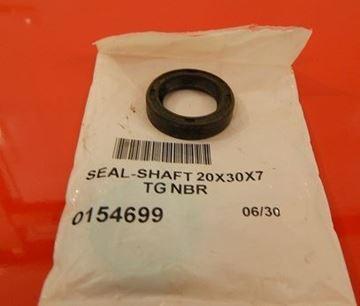 Obrázek gufero klikova hridel WACKER Neuson originál 0154699 pro motor vibracni pech cena za 1ks wellendichtring seal shaft vnejsi rozmer 30mm vyska 7mm cena za 1kus