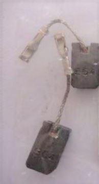 Obrázek uhlík uhlíkové kartáče Bosch do PWS 10 125 10-125 CE brusky PWS10-125CE PWS10-125