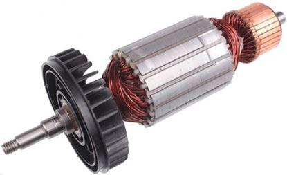 Image de ancre rotor ventilateur Makita GA9040 GA 9040 remplacer l'origine / kit de service de maintenance de réparation haute qualité / balais de charbon et graisse gratuit