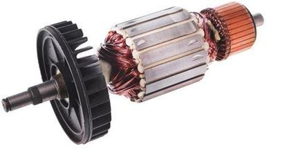 Bild von Anker Rotor Lüfter Makita 9069 9067 ersetzt original (ekvivalent) Wartungssatz Reparatursatz Service Kit hohe Qualität Fett und Kohlebürsten GRATIS