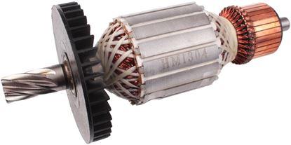 Bild von Anker Rotor Lüfter Makita HM1304 HM 1304 ersetzt original (ekvivalent) Wartungssatz Reparatursatz Service Kit hohe Qualität Fett und Kohlebürsten GRATIS