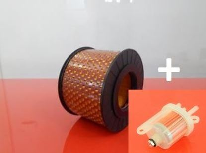 Obrázek sada filtrů do Bomag vibrační desky BP 20/50D smotorem Hatz 1B20 palivový a vzduchový