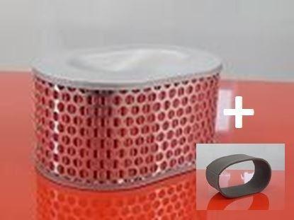 Bild von vzduchový + před filtr do Bomag vibrační deska BPR 25/45-3 motor Honda GX 160 BPR 25/45 -3 BPR25/45 filter filtre