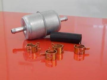 Obrázek palivový filtr potrubní pro Bomag vibrační deska BPR 50/52 D-2 BPR50/52 D2 BPR50/52D2 objímky hadičky