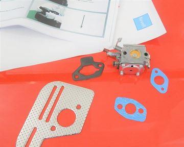 Obrázek karburátor diaphragma + těsnění pro vibrační pěchy Bomag BT60-4 BT65-4 Weber SRV590 SRV620 Ammann ACR60 ACR68 AVS68 AVS68-4 AVS68/4 s Honda motorem GX100 nahradí original nahradí originál 16100-ZEV4-S13 061A1-ZH7-010 service kit opravárenská / wartungskit / skladem + servisní informace