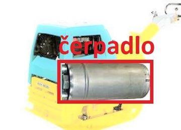Picture of čerpadlo pro Ammann desku AVH 6020 AVH6020 pump hydraulic Pumpe další náhradní díl díly na vyžádání - weitere Ersatzteile auf Anfrage - ask for further spare parts