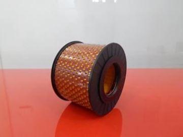 Obrázek vzduchový filtr pro Bomag vibrační deska BPR 25/40 DH motor Hatz 1B20-6 BPR25/40 DH filter skladem OEM kvalita