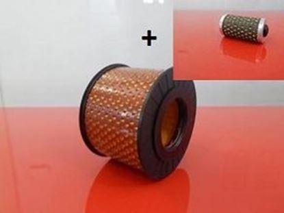 Obrázek sada filtrů 2ks pro Bomag BPR 35/60 D a BPR35/60 D palivový vzduchový filtr - OEM kvalita servisní nahradí originál filtry filter filtre