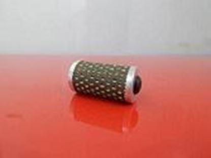Obrázek palivový filtr potrubní filtr pro Bomag vibrační deska BPR 35/60D motor Hatz 1B20-6 OEM kvalita