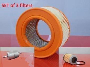Obrázek sada filtrů do vibrační desky Bomag BPR50/52D-2 s motorem Hatz 1D41S