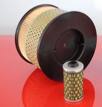 Imagen de filtro para Bomag BPR 40/45 D-3 BPR40/45 D3 with Hatz engine 1B20 1B30 filtro de aire y filtro de combustible / reemplaza la pieza de recambio original SET1