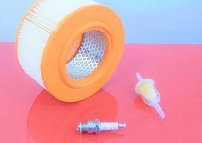 Obrázek sada filtrů pro Bomag BT60 BT 60 s Sachs motorem - palivový potrubní a vzduchový filtr zapalovací svíčka - OEM kvalita servisní nahradí originál SET1 filter filtre