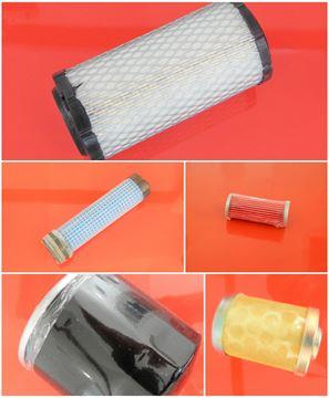 Bild von Wartung Filterset Filtersatz für Komatsu PC16 R2 PC16R2 PC 16 R2 mit Kubota Motor Set1 auch einzeln möglich