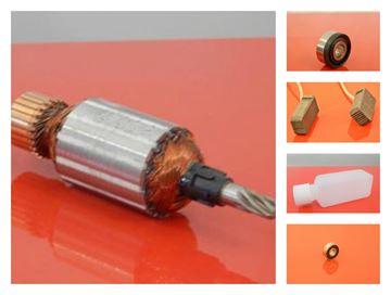 Imagen de armadura para HILTI TE505 TE-505 rotor aceite escobillas de carbón 2pcs rodamientos / kit de reparación / set de mantenimiento