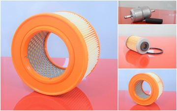 Obrázek sada filtrů 3ks pro WACKER DPU 6055 DPU6055 H 6055H s motorem Hatz 1D80S 1D81S nahradí original DPU6555 DPU 6555