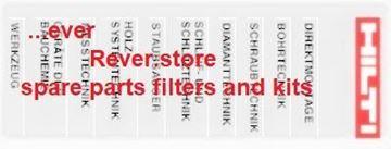 Obrázek HILTI Explosionszeichnung en pdf Stückliste n Ersatzteilliste spart part list Reparaturanleitung en repair list on CDROM CD rom CD-ROM auf CD Rom