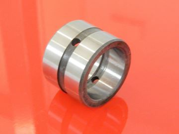 Imagen de ocelové pouzdro s mazací drážkou vnější a vnitřní + 2 otvory pro mazání pro Takeuchi 00021-00010 / 19000-46302 / 19000-46320
