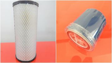 Obrázek servisní sada filtrů filtry filtr pro Wacker - Neuson 50Z3 od serie AH00579/AJ02777 s motorem Yanmar 4TNV88-BPNS Set1 filter filtre