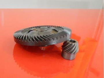 Obrázek převod sada pro Makita  9049 9049S 9059 9059S + převodové mazivo GRATIS Getriebe gear Tellerrad Kegelrad Fett GRATIS grease free 226739-9 + 226740-4