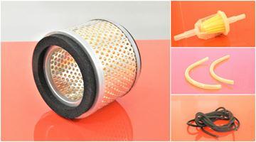 Obrázek servisní sada filtrů filtry pro Ammann ABS68E ABS 68 Set1 vzduchový palivový potrubní hadičky startovací snůra top filter set kit repair wartung service filtre