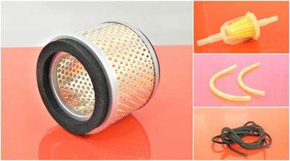 Изображение servisní sada filtrů filtry pro Ammann ABS68E ABS 68 Set1 vzduchový palivový potrubní hadičky startovací snůra top filter set kit repair wartung service filtre