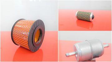 Obrázek servisní sada filtrů filtry pro Hatz 1B50 Set1 air luft fuel kraftstoff filter filtre