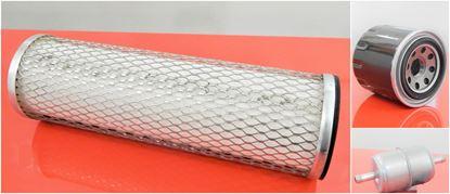 Obrázek servisní sada filtrů filtry pro Hatz 2G30 Set1 set olejový vzduchový palivový filter filtre