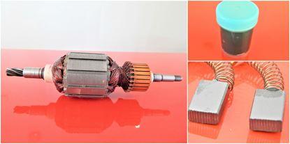 Obrázek kotva Makita rotor HR 3000 C HR3000 C 850W 516383-3 uhlíky nahradí originál dil - rotor anker armature armadura armatura Reparatursatz Wartungssatz service repair kit