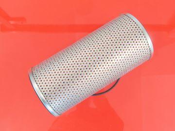 Obrázek hydraulický filtr zpětný filtr Takeuchi minibagr TB153FR motor Yanmar 4TNV88-PTBZ1 hydraulik hydraulic filter filtre filtro suP filtre