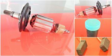 Imagen de rotor del inducido PREMIUM Bosch GBH 7 DE GBH 7-45 GBH 7-46 DE GBH7-45 GBH7-46 GBH7 sustituir origen 1614010204 1614010205 / kit de servicio de reparación de mantenimiento de alta calidad / escobillas de carbón y grasa GRATIS