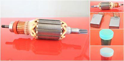 Bild von Anker Rotor originál Makita HM0860 C HM0860C 513563 -2 (ekvivalent) Wartungssatz Reparatursatz Service Kit hohe Qualität Fett und Kohlebürsten GRATIS